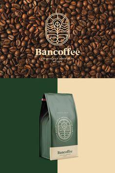 Bakery Packaging, Food Packaging Design, Coffee Packaging, Coffee Branding, Packaging Design Inspiration, Tea Logo, Coffee Shop Logo, Cafe Logo, Creative Coffee