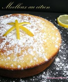 In comfortable Citron. Scrumptious in muffin, tender and citron mussels. Lemon Recipes, My Recipes, Sweet Recipes, Dessert Recipes, Beignets, Flourless Cake, French Desserts, International Recipes, Brunch