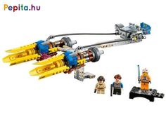Build and collect a special LEGO® Star Wars™ anniversary edition of young Anakin Skywalker's amazing Podracer! X Wing, Lego Star Wars, Young Anakin Skywalker, Lego Mini, Modele Lego, Blue Lightsaber, Figurine Lego