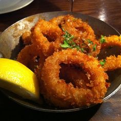 Calamari from the Cote Brasserie - best calamari I've had in my entire life, super thick and tender
