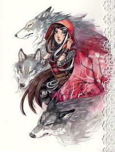 Resultado de imagem para ever after high cerise hood fanarts Cerise Hood, Ever After High Rebels, Lobo Anime, Ever After Dolls, After High School, Dibujos Cute, Red Hood, High Art, Disney Drawings