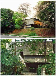 Casa no Butantã / Paulo Mendes da Rocha e João de Gennaro, 1964