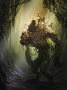 monstrs | Monster in a forest...