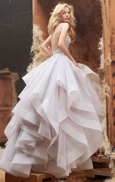 This dress would be an ideal reception dress if it is in a brighter or more saturated color