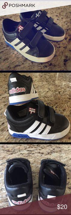 Adidas neo Label velcro Baby zapatos tamaño 7 Pinterest zapato de bebé