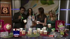 You can celebrate National Frozen Yogurt Day today and enjoy a free scoop of the frozen treat. Becky Sackett, of Menchies, brought some samples for Fox 8's Wayne Dawson, Stefani Schaefer and Kristi...