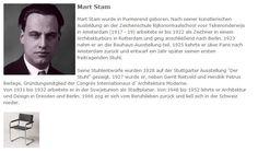 Mart Stam - deutscher Text