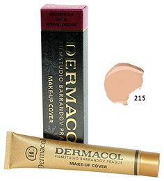 Dermacol Make  Up Cover Waterproof Hypoallergenic SPF 30 215 by Dermacol  Cover All Ance Scar and Tattoo >>> Read more  at the image link. #DarkSpotSkinProduct