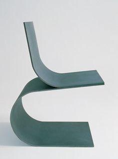 // two bends chair - Scott Burton