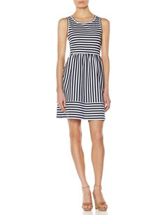 OBR Striped Ponte Dress