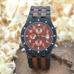 Trendy Top Brand Wooden Watches Big Sale http://timecreatives.com/bewell-wooden-vintage-luxury-mens-watch-three-dials-date-display/ //Price: $58.99 & FREE Shipping //     #watches #watchesformen #wristwatch #fashion