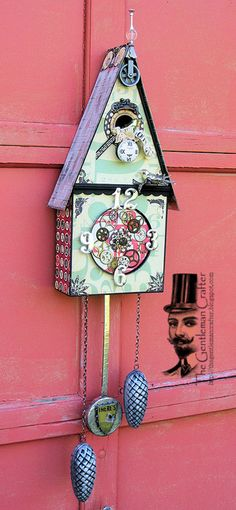 The Gentleman Crafter: The Birdhouse Clock- Done!