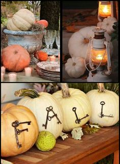 Decorating ideas for fall.