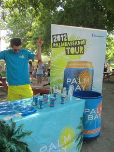 Palmbassador Travis working on his dance moves.