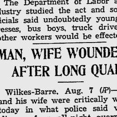 Reading Eagle - Aug 31, 1935. Article about Felix and Damiana Boni.