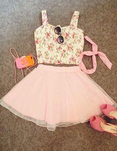 Imagem de pink, fashion, and outfit