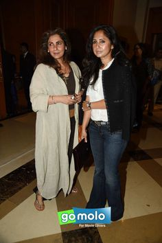 Dimple Kapadia & Rinki Khanna at the Launch of 'Twinkle Khanna's book 'Mrs. Funnybones' in Mumbai