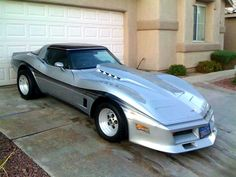 Here is another submission from a reader for our RIDES posts. This Custom 1980 Corvette hails from California and has had some very nice upgrades done.