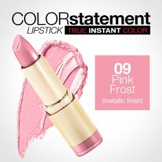 Milani Color Statement 09 Pink Frost (Metallic)