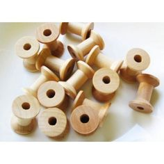 Free Shipping. Buy MyCraftSupplies Unfinished Wood Spools 1 1/8 x 7/8 inch Set of 25 Made in the USA at Walmart.com