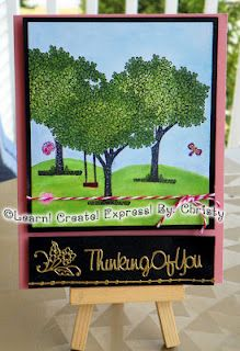 Thinking Of You card I created