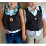 One Button Vest