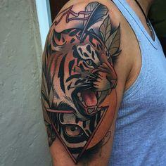 Tattoo done by: Kike Esteras