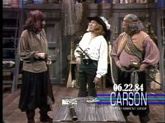 """The Mighty Carson Art Players Present """"Captain Stud"""" on """"The Tonight"""