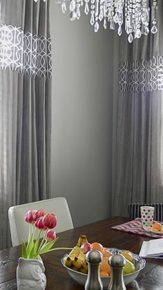 Pimp My Curtains: Customize store bought panels to look like custom curtains. Great idea!!!!