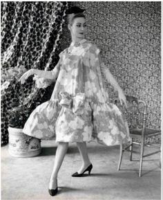 1958 balenciaga baby doll