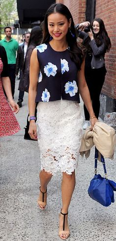 HOW TO WEAR: LACE SKIRTS | Weddig Hair