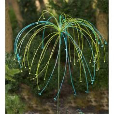 Beaded Glass Garden Stake | Garden Art | Plow & Hearth
