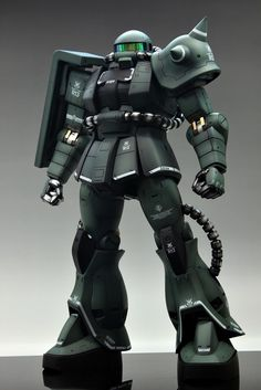 GUNDAM GUY: Mega Size 1/48 MS-06J Zaku II - Customized Build