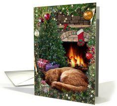 Christmas Cat card (sold 100 to NJ, thx!)