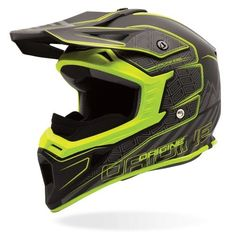 Origine Exio Motocross Helmet -- A new dirt bike helmet from Origine featuring a cross-season design thanks to a removable breath box for winter use. For summer use the helmet has channels to allow circulation of incoming air to keep the air inside the helmet dry and cool. The shell is made from thermoplastic resin and has a removable micro-fiber lining that is washable, moisture-wicking, and odour resistant.