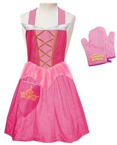 Princess Apron. Abby would LOVE this!