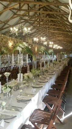 White Wedding Flowers, White Flowers, Banquet, Table Settings, Table Decorations, Home Decor, Style, Swag, Decoration Home