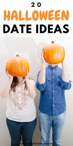 Looking for Halloween Date Ideas? We've got you covered with the perfect Halloween date night that ranges from cute to creepy, scary, to safe- and everything in between so you can find the… More Couple Halloween, Halloween Night, Halloween Gifts, Halloween Cards, Fall Halloween, Halloween 2018, Scary Halloween, Halloween Makeup, Halloween Ideas