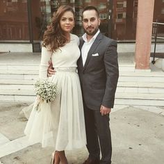 Love it! #CityHallWedding City Hall Wedding, Civil Wedding, Plan Your Wedding, Wedding Ideas, Bridesmaid Dresses, Wedding Dresses, Simple Weddings, Wedding Couples, My Style
