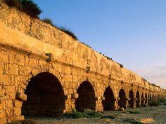 Roman Aqueduct, Caesarea Maritima.