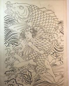 Japanese Tatto, Japan Tattoo, Kuniyoshi, Oriental Tattoo, Samurai Tattoo, Japan Style, Irezumi, Japan Fashion, Asian Art