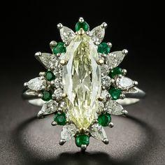 Vintage Diamond Rings, Vintage Rings, Vintage Jewelry, Jewelry Box, European Cut Diamonds, Round Diamonds, Expensive Jewelry, Marquise Diamond, Art Deco Ring
