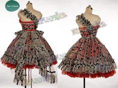 Alice in Wonderland red dress. #aliceinwonderland