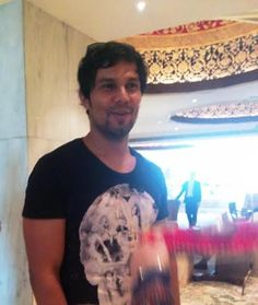 Bollywood Actor Randeep Hooda at #TajMahalHotel