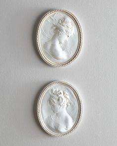 Each Cameo at #Horchow #WallArt #HomeDecor