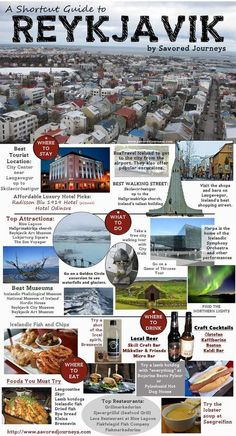 Traveling to Iceland? Check out this travel guide to Reykjavik Iceland. Everythi… Traveling to Iceland? Check out this travel guide to Reykjavik Iceland. Everything you need to know about travel in Reykjavik. Iceland Shopping, Iceland Travel Tips, Travel Guide, Travel Ideas, Guide To Iceland, Travel Photos, Cool Places To Visit, Places To Travel, Travel Destinations