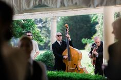 Stand up bass - perfect for a classy cocktail hour   Julia Archibald Wedding Photography
