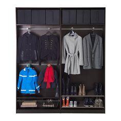 PAX Wardrobe - soft closing damper - IKEA