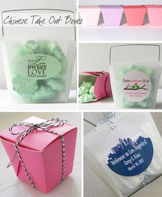 Chinese Take Out Containers - Great for favors!