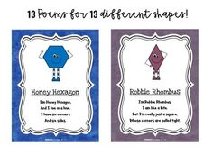 Shape Poem Posters & Mini Books by Primarily Au-Some | TpT
